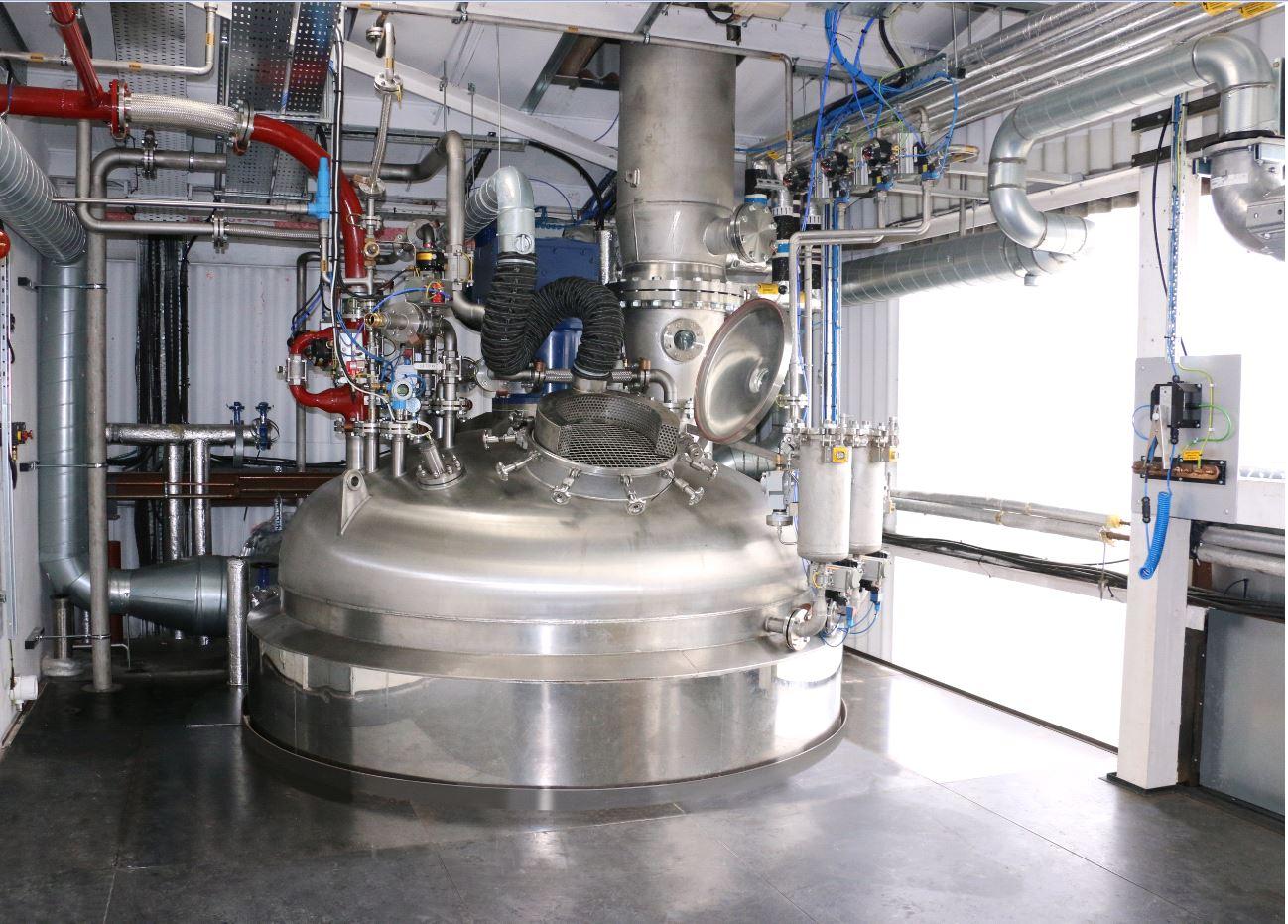 new reactor bigger capacity